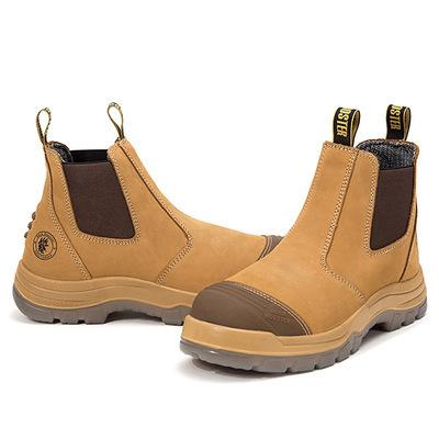 Men's casual leather anti-mite waterproof  boots