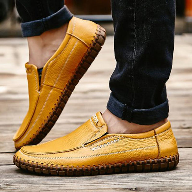 Men's Fashion Leather Light Shoes