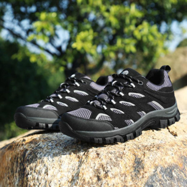 139162  Men's outdoor non-slip breathable hiking travel sneakers hiking shoes