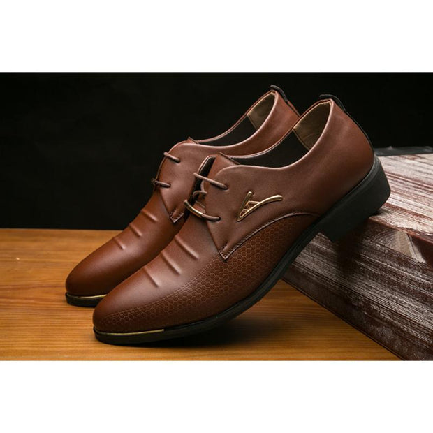 Men's leather shoes business autumn casual men's shoes formal leather shoes