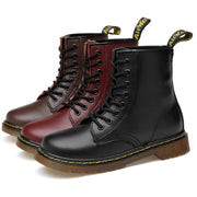 Leather Mens Ankle Oxfords Boot
