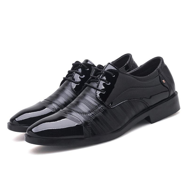 Men's business dress shoes wedding lace up foreign trade large size