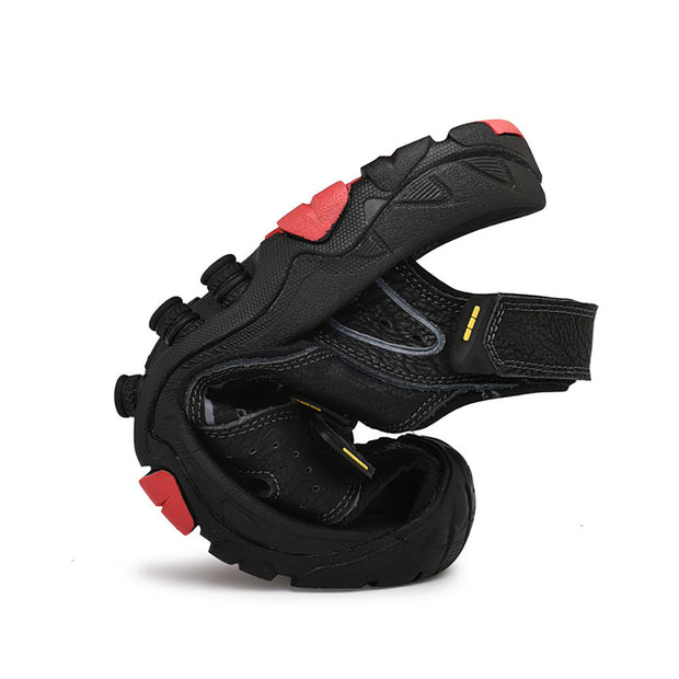 Men's Anti-collision Toe Outdoor Hook Loop Non Slip Hiking Sandals