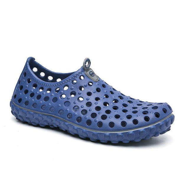 Men's comfortable breathable hole shoes