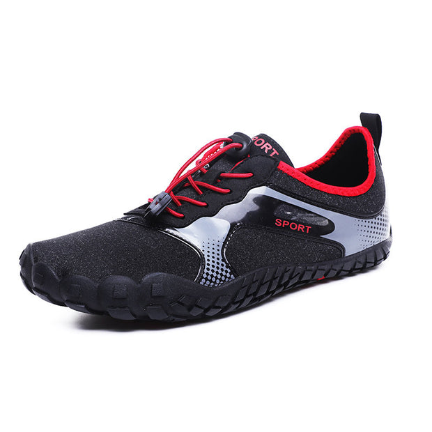 Men Cloth Non Slip Elastic Lace Beach Casual Water Shoes