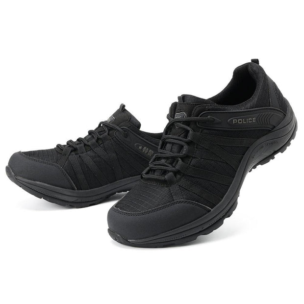 Men Fabric Non Slip Shock Absorption Outdoor Casual Hiking Sneakers
