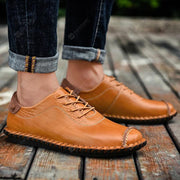 Men's business leather shoes leather breathable casual men's shoes leather wear-resistant formal shoes