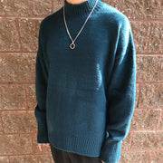 Men's Fashion Pure Turtleneck Sweater