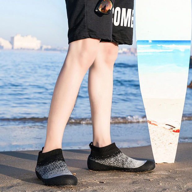 Men stretch socks shoes fitness shoes beach shoes soft shoes
