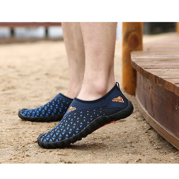 Men's Sandals Breathable Shoes Mesh Sneakers Climbing Shoes