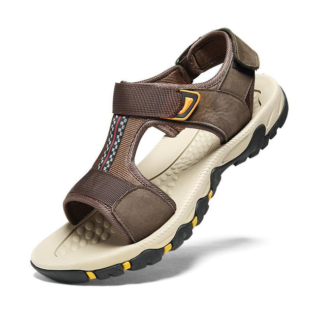 Men's breathable beach shoes outdoor leisure non-slip sandals