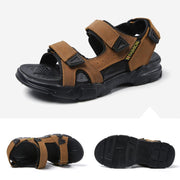 Men's British Fashion Genuine Leather Beach Sandals