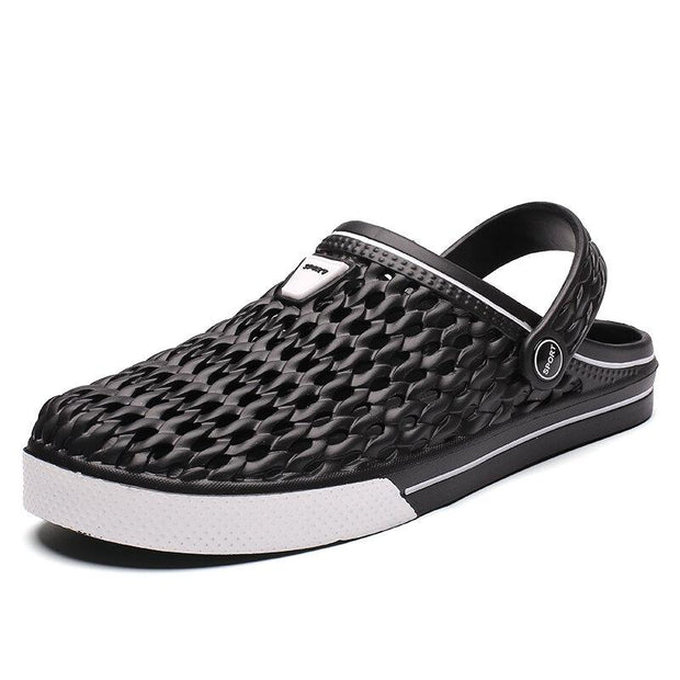 Men's EVA Hole Breathable Light Weight Slippers Casual Beach Sandals