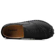 Men's Leather Non Slip Hand-sewn Casual Shoes