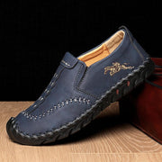 Men's Hand-stitched Cow Leather Non Slip Outdoor Casual Loafers