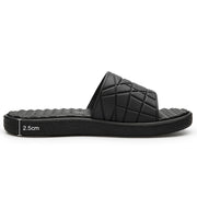 Men's Open Toe Slide Sandals Comfy Soft Home Slippers