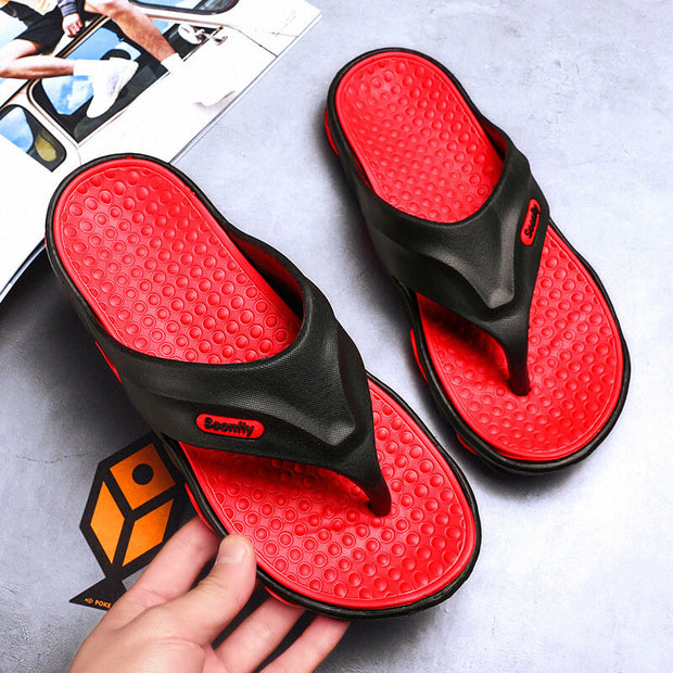 Men's EVA Light Weight Comfy Casual Beach Slippers