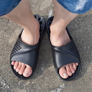 Men's Beach Garden Slide Hole Water Sandals
