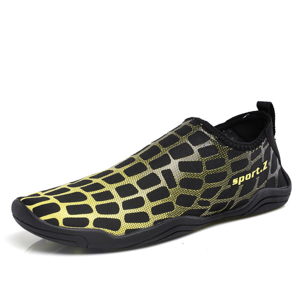 Men's Drainable Sole Quick Dry Swimming Boating Diving Water Shoes