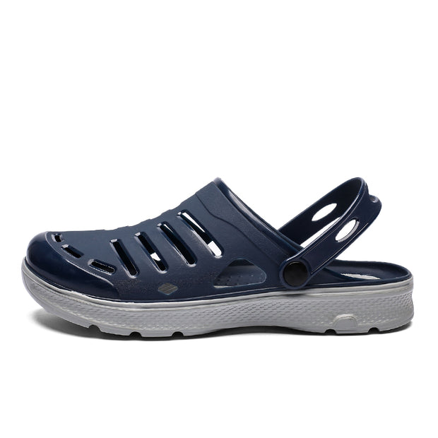 Men's EVA Hollow Out Adjustable Heel Strap Casual Beach Sandals