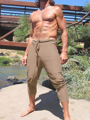 Men loose and comfortable beach pants