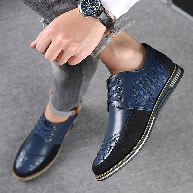 Men's High Quality Sneakers Casual Leather Shoes