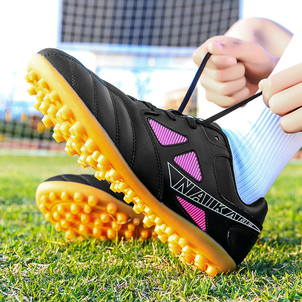 Men's Sports Outdoor Training Rubber Spikes Football Cleats
