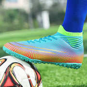 Men's Superimposed Psychedelic Football Cleats