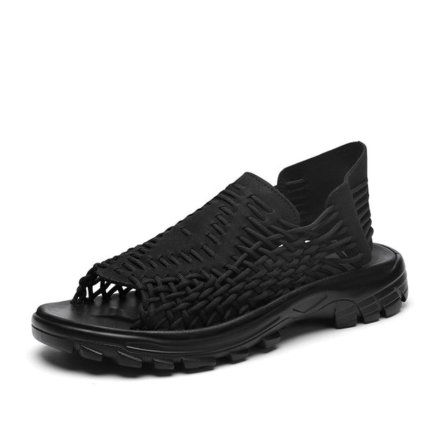Men's Summer Mesh Braided Sandals