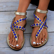 Women's Trend Rhinestone Decorative Sandals