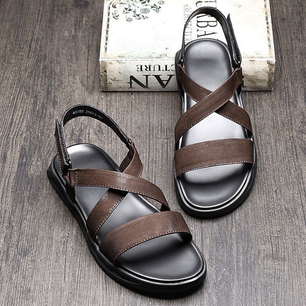 Men's Summer The New Trend Of The Roman Beach Sandals