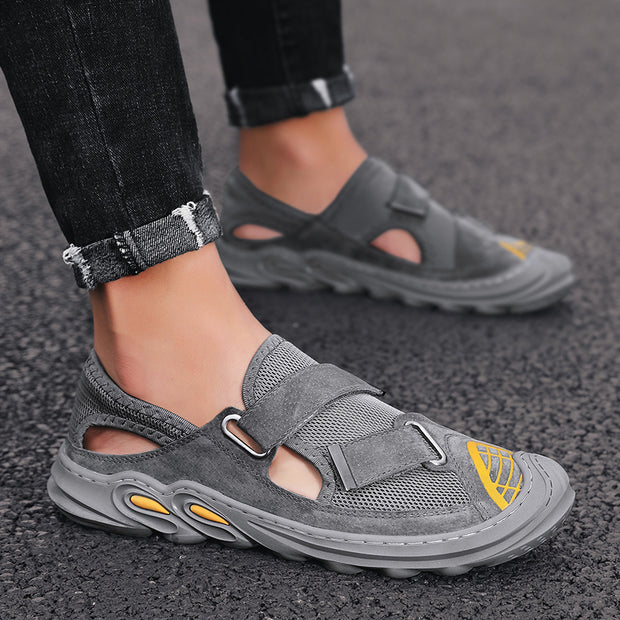 Men's Sports Outdoor Hand-knotted Breathable Casual Shoes
