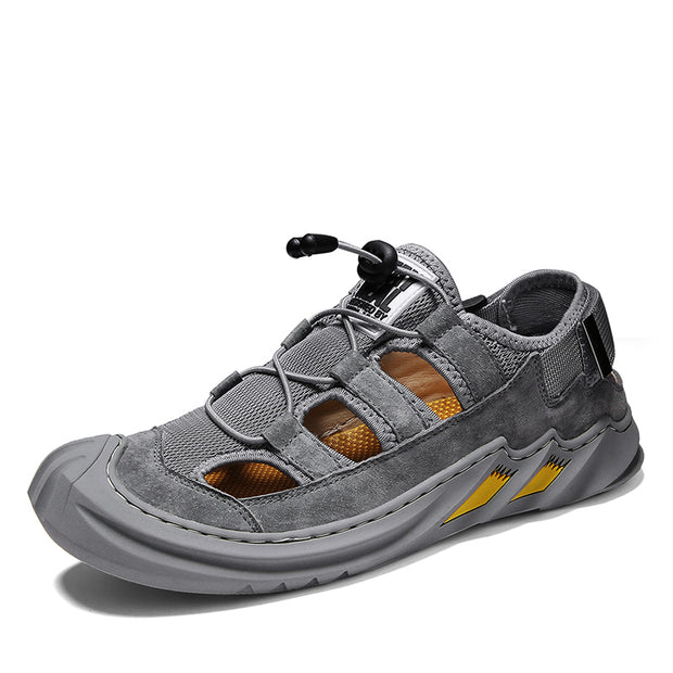 Men's Sports Outdoor Handmade Lace Knotted Casual Shoes