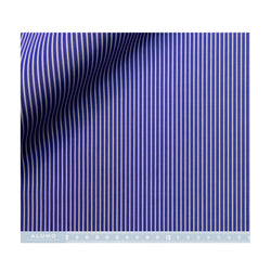 Navy and White Stripe Silvano - Bespoke Pattern