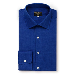 Cobalt Linen Shirt - New