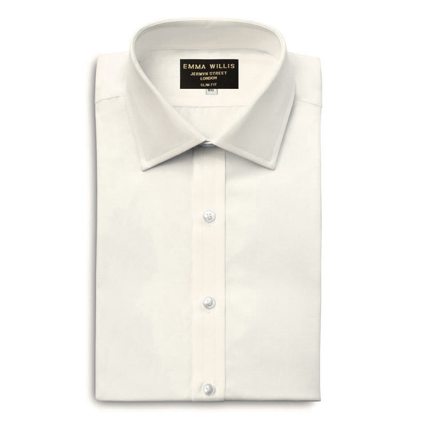 Ivory Authentic Sea Island Cotton Shirt