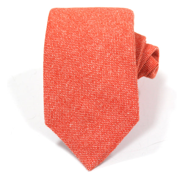 Orange Cashmere Tie