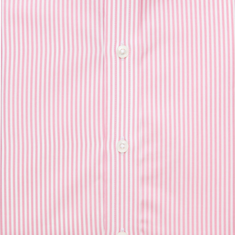 Pink Bengal Stripe Cotton Ready to wear Shirt