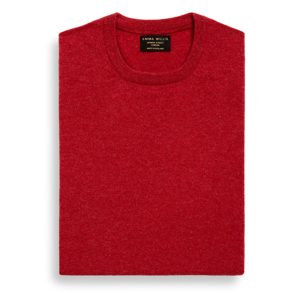 Poppy Cashmere Crew Neck Jumper