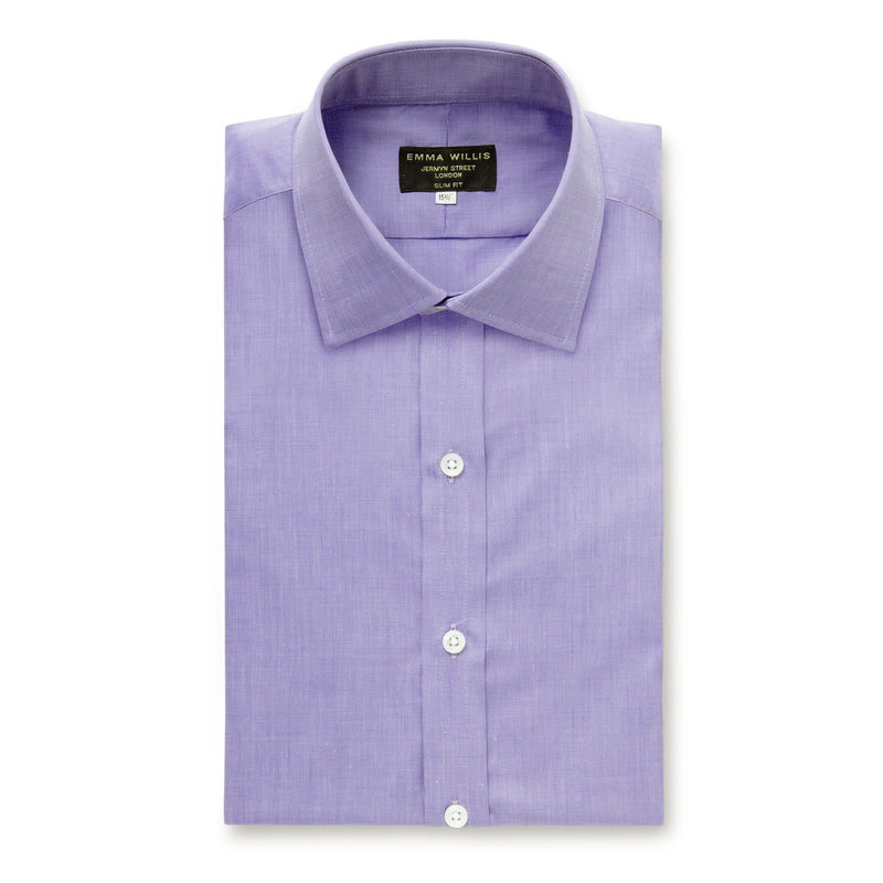 Purple Zephir Soyella Cotton Shirt