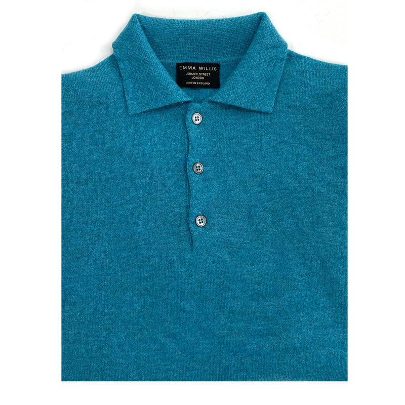 Utopia Cashmere Polo Jumper - New - Limited Edition