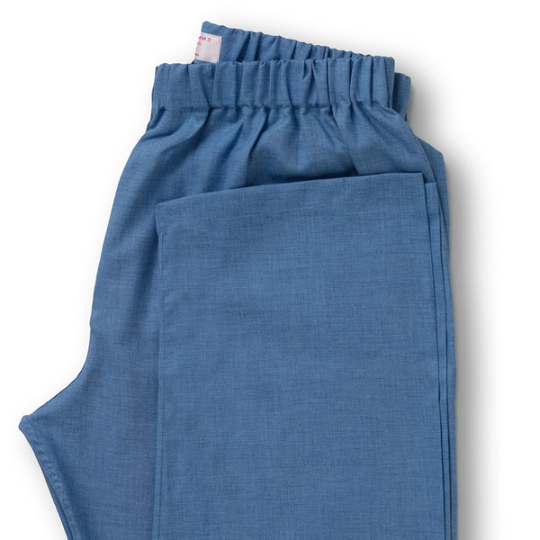 Azure Brushed Cotton Pyjama Bottoms