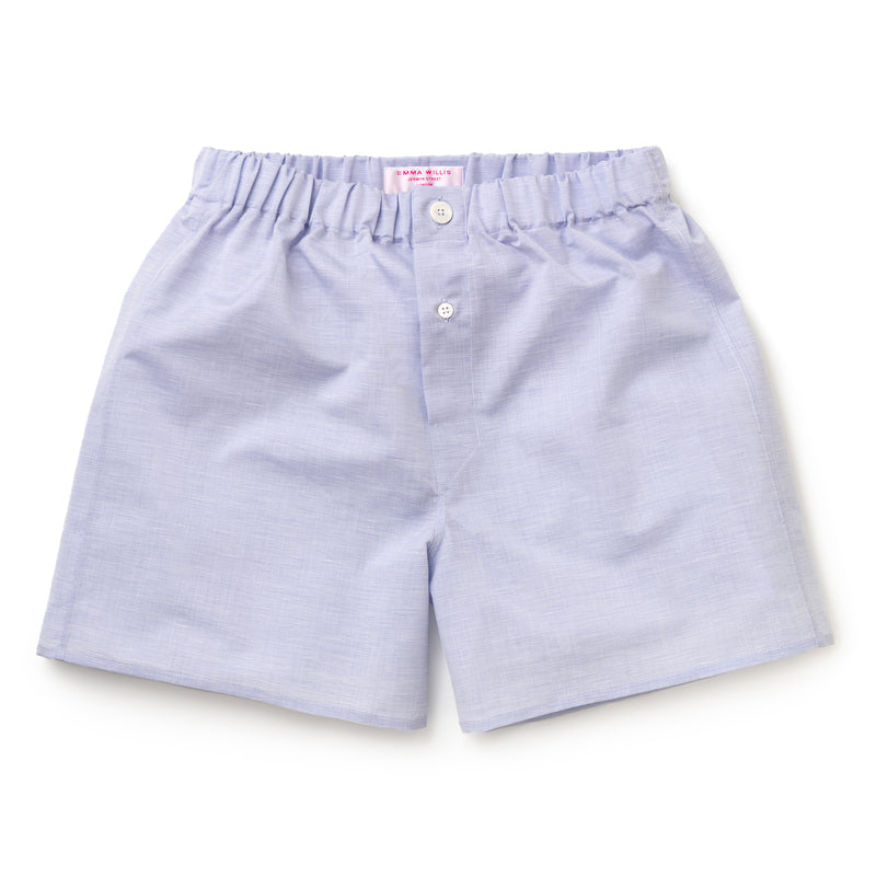 Blue Zephirlino Boxer Shorts