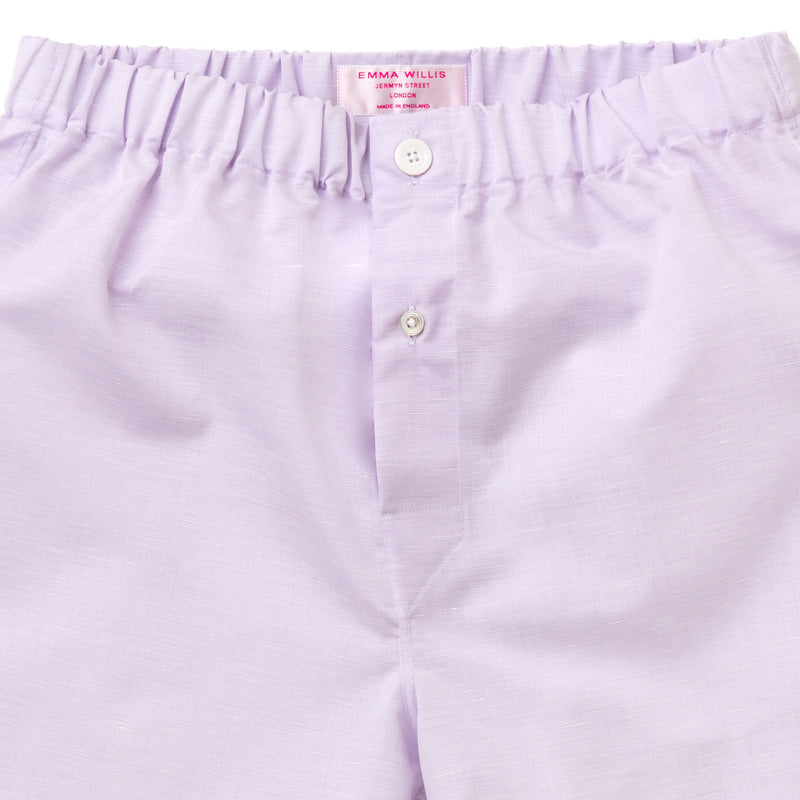 Lilac Zephirlino Boxer Shorts