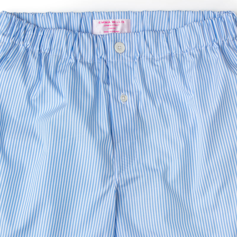 Sky Bengal Cotton Boxer Shorts