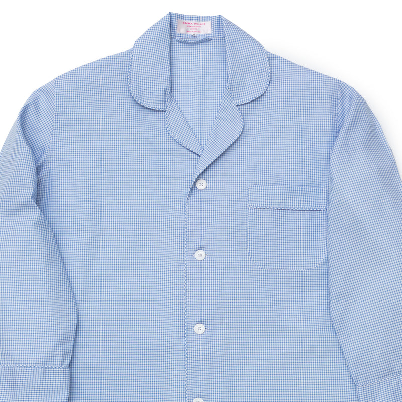 Sky Oxford Check Pyjamas