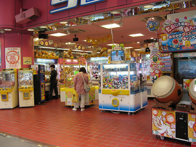 First Experience in Japan Arcade Buildings