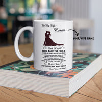 Personalized Mug For Wife - To The Moon And Back