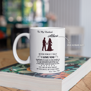 Personalized Mug For Husband - My Soulmate My Everything