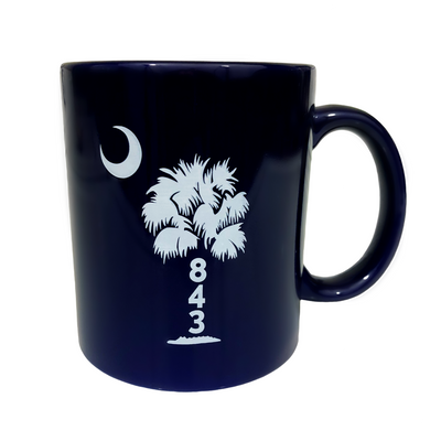 843 Palmetto Tree Coffee Mug (11oz)
